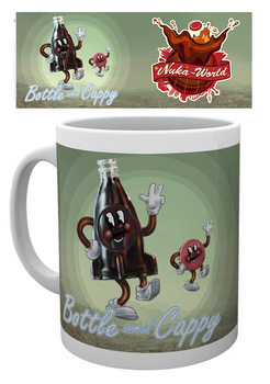 Caneca Fallout - Bottle and Cappy