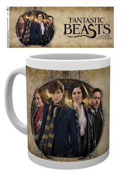 Caneca  Fantastic Beasts And Where To Find Them - Group Frame
