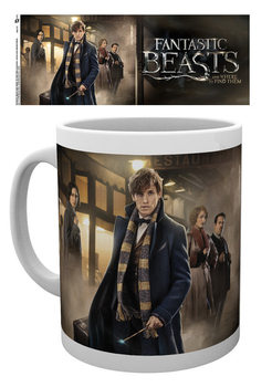 Caneca Fantastic Beasts And Where To Find Them - Group Stand