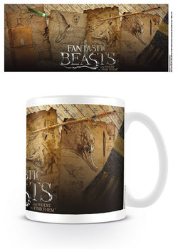 Caneca  Fantastic Beasts - Notebook Pages