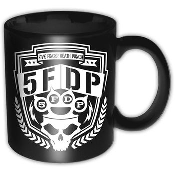 Caneca  Five Finger Death Punch - Shield