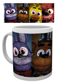 Caneca FIVE NIGHTS AT FREDDY'S - Faces