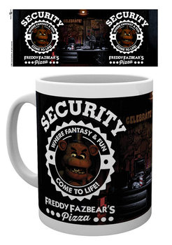 Caneca Five Nights At Freddy's - Security
