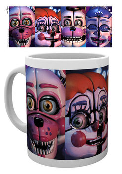 Caneca Five Nights At Freddy's - Sister Location Faces