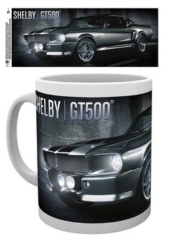 Caneca  Ford Shelby - Black GT500