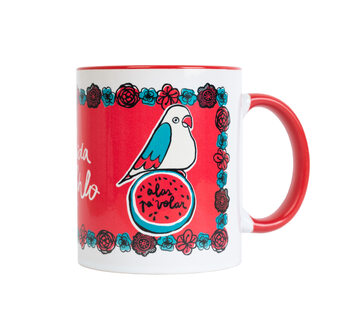 Caneca Frida Kahlo - Wings To Fly