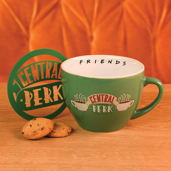 Caneca Friends - Central Perk Green