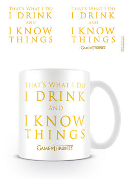 Caneca  Game Of Thrones - Drink & Know Things