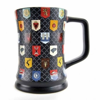 Caneca  Game Of Thrones - Matt Glaze Sigils