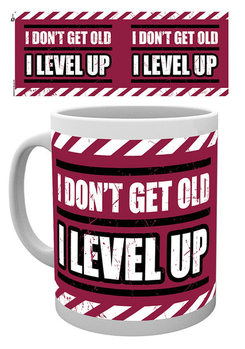 Caneca  Gaming - I Level Up - Available worldwide