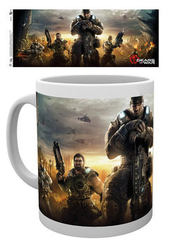 Caneca  Gears Of War 4 - Keyart 3