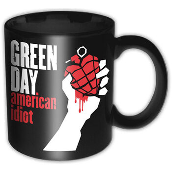Caneca Green Day - American Idiot