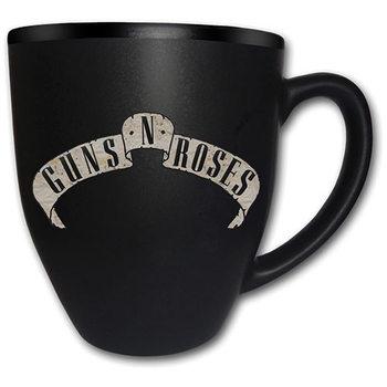 Caneca  Guns N Roses – Logo Matt Engraved