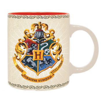 Caneca  Harry Potter - Hogwarts 4 Houses