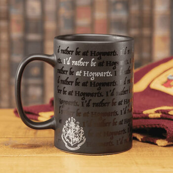 Caneca Harry Potter - I Would Rather Be At Hogwarts