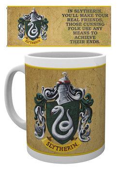 Caneca  Harry Potter - Slytherin Characteristics
