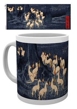 Caneca  Hiroshige - New Years Eve Foxfire