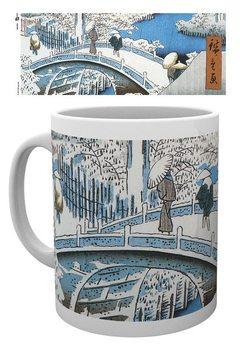 Caneca  Hiroshige - The Drum Bridge