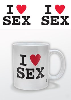 Caneca I (heart) Sex – I Love Sex