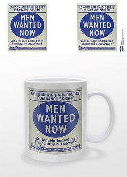 Caneca IWM - Men Wanted Now