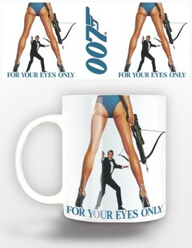 Caneca  James Bond - for your eyes