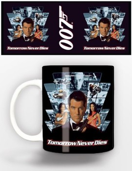 Caneca James Bond - tomorrow never dies