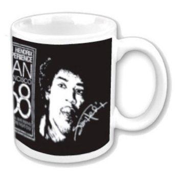 Caneca  Jimi Hendrix - San Francisco 68
