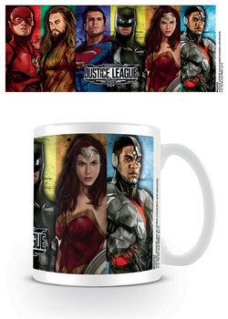 Caneca Justice League Movie - Hero Stripes