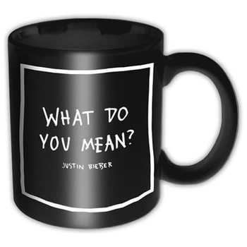 Caneca Justin Bieber – What Do You Mean
