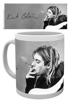 Caneca Kurt Cobain - Smoking