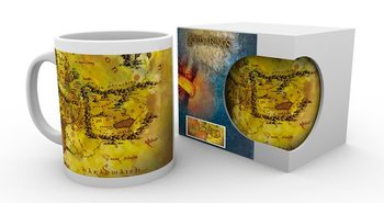 Caneca  Lord Of The Rings - Map