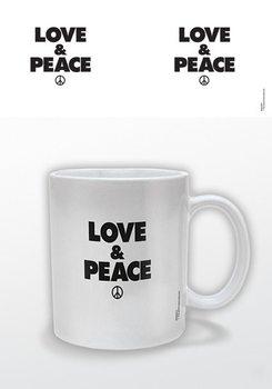 Caneca  Love & Peace