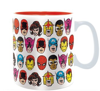 Caneca Marvel - Marvel Heads