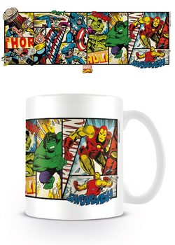 Caneca  Marvel Retro - Heroes Panels