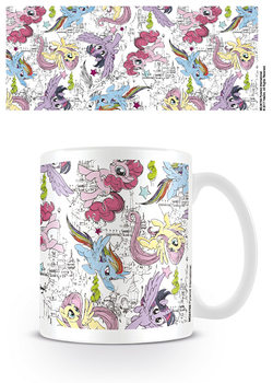 Caneca  My Little Pony: Movie - Scribble Ponies