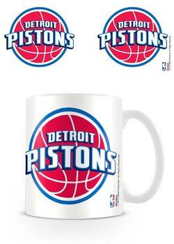 Caneca NBA - Detroit Pistons Logo