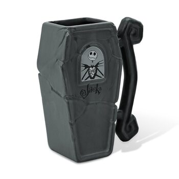 Caneca Nightmare Before Christmas - Jack's Coffin