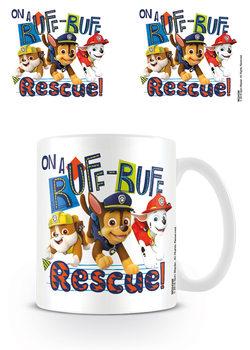 Caneca Paw Patrol - Ruff-Ruff Rescue