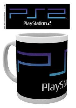 Caneca  Playstation - PS2 Logo