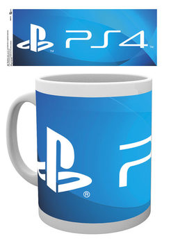 Caneca  Playstation - PS4 Logo