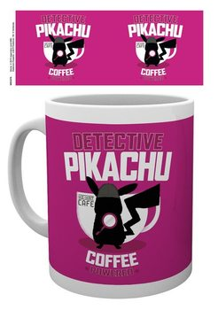 Caneca Pokemon: Detective Pikachu - Coffee Powered