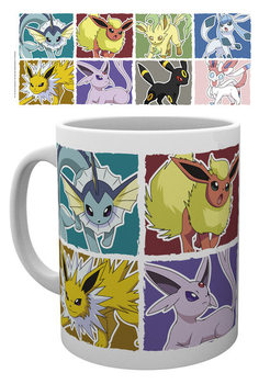 Caneca  Pokemon - Eevee Evolution