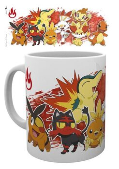Caneca Pokemon - First Partners Fire