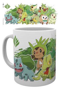 Caneca Pokemon - First Partners Grass