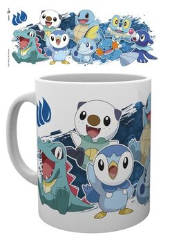 Caneca Pokemon - First Partners Water