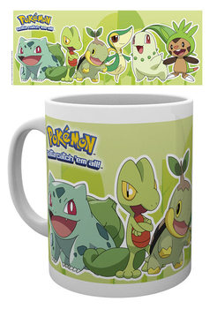 Caneca Pokémon - Grass Partners