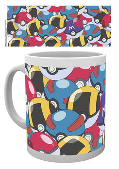Caneca  Pokemon - Pokeballs