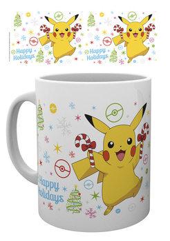 Caneca  Pokemon - Xmas Pikachu