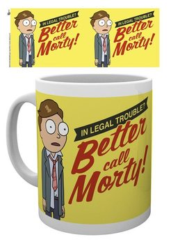 Caneca Rick And Morty - Better Call Morty