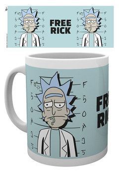Caneca  Rick And Morty - Free Rick
